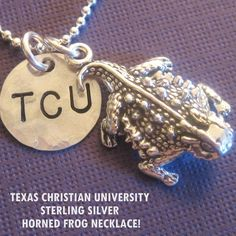 Another cute TCU item.  Etsy is great.  Got this last year for my birthday...LOVE IT!!!! :)