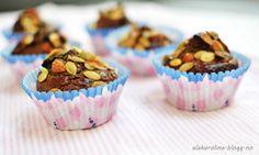 Almond, blueberry & cinnamon cupcakes