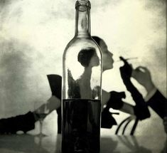 Wine Bottle By Irving Penn