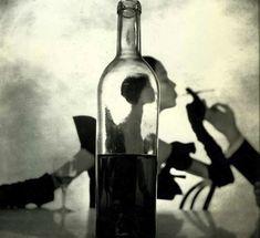 Wine Bottle By Irving Penn