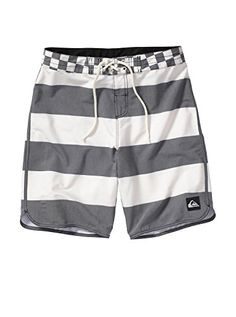 Quiksilver Men's Brigg Scallop Boardshort, Cloud, 34 -- This is an Amazon Associate's Pin. View the item in details on Amazon website by clicking the VISIT button.