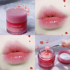 Peach Makeup, Soft Makeup, Makeup Box, Lip Makeup, Makeup Cosmetics, Baby Lips Collection, Makeup Collection, Tint Lipstick, Korean Makeup Look