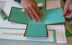 It's almost a scrapbooking Jack-in-the-Box. Try this technique for making an awesome scrapbook box. No album needed.  You will need 4 12x12 pieces of