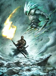 concept desert warriors | 45 Superb Examples of Warrior and Battle Art - noupe