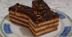 Narancskrémes mézes szelet – Közösségi Receptek Tiramisu, Cake Slices, Ethnic Recipes, Food, Essen, Meals, Tiramisu Cake, Yemek, Eten