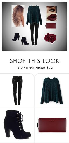 """When it's cold"" by arugalagirl13 ❤ liked on Polyvore featuring мода, Balmain, Bamboo и Paul Smith"