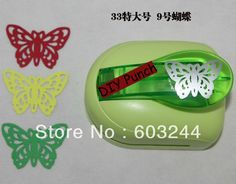 Free Hong Kong Post 2pcs XXL 43MM Butterfly Shape Mini Paper Shapper Punch Craft Punch Scrapbook with Retail Package Xmas Gift B-in Hole Punch from Office & School Supplies on Aliexpress.com