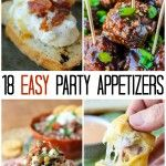 18 EASY Appetizer Ideas for New Year's Eve