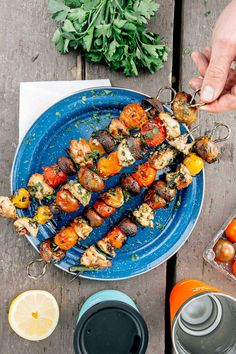 If you're planning your camping menu, look no further! This list of 52 Camping Food Ideas will give you TONS of camping meal options that you're going to love. Find your new favorite camping recipe by clicking through to our post! Camping Food Make Ahead, Best Camping Meals, Camping 101, Camping Lunches, Camping Foods, Camping Recipes, Grilled Chicken Skewers, Veggie Skewers, Chips Ahoy