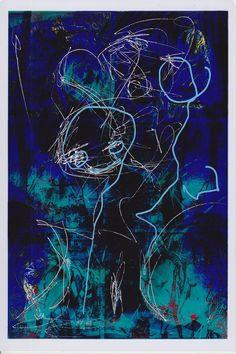 Dessin Original sur Oeuvre ERotique Morgan Merrheim Street Art Brut Singulier