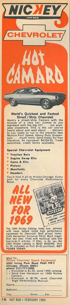 Vintage Ad of the Week: Nickey Chevrolet - Hot Rod Magazine Blog