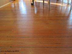 Clean your wood floor with black tea!
