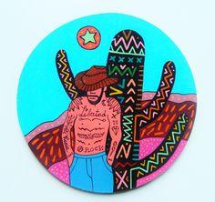El Mexicano -  Pintura Artesanal