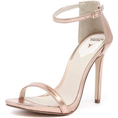 Windsor Smith Crawwl Rose Gold (€90) ❤ liked on Polyvore featuring shoes, sandals, heels, chaussures, sapatos, strappy heel sandals, high heel platform sandals, strap sandals, strap heel sandals and stiletto sandals