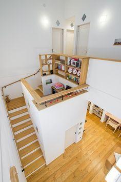 Apartment: Modern Architecture and Scandinavian Interior Design of A Bright Apartment Scandinavian Interior Design, Modern Interior Design, Interior Design Inspiration, Interior Architecture, Modern Interiors, Bright Apartment, House Stairs, Staircase Design, Home Office Design