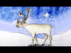 How to Draw a Christmas Reindeer - YouTube