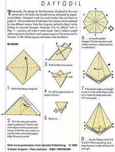 Parce l'origami a toujours un coté magique, voici une vidéo qui vous épatera beaucoup plus la moyenne ! Apprenez à réaliser des fleurs en origami comme jamais vous n'en avez vu en vidéo.