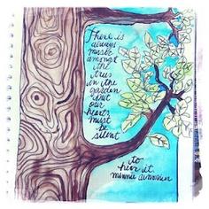 Art Journal page by Catherine Scanlon.