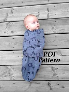 Simply Swaddle and Knot Hat 06mos by StitchUponaTime on Etsy
