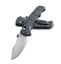Benchmade Knife 484-1 Nakamura, Black Carbon Fiber Handle, Plain Edge Folding Blade http://www.handtoolskit.com/benchmade-knife-484-1-nakamura-black-carbon-fiber-handle-plain-edge-folding-blade/