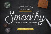 Smoothy - Cursive Script & Sans - Script - 1