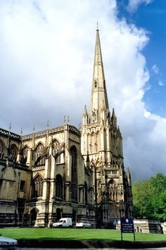 """""""Bristol - St Mary Redcliffe Church"""" by Anna Chaleva at PicturesofEngland.com"""