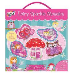 Buy Fairy Friends Sparkle Mosaics from our Art Supplies range - Tesco £8