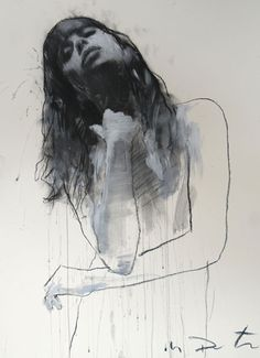 Amazing contemporary figurative artist Mark Demsteader
