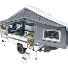 Black Series Campers Off Road Camper Trailer, Camper Trailers, Tiny Trailers, Jerry Can, Black Series, Lounge Areas, Water Tank, Recreational Vehicles, Campers