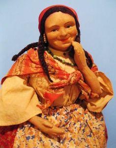 "Very Big ""Gypsy"" Stockinet Cloth 30's Tea Cozy Cosy Russia Russian Soviet Union | eBay"