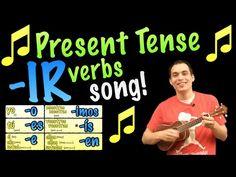 Señor Jordan's Spanish Videos » Blog Archive » 01 Present Tense -IR verb endings song!