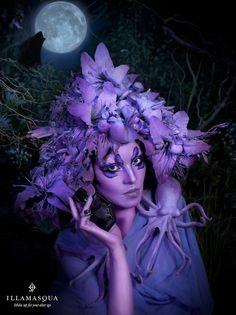 Makeup Brand: Illasmaqua.  Collection:  Freak.  Creative Director:  Alex Box, MUA.
