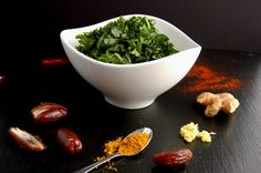 Raw massaged kale recipe and a super annoying co-worker story.