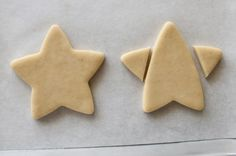 simple Star Trek Insignia Cookie from a STAR cutter