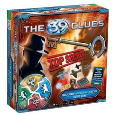 39 Clues Game   Great series of books for my pre-teen - think he would love this game!