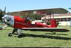 LY-XAR Homebuilt biplane. RJ-2 aircraft picture