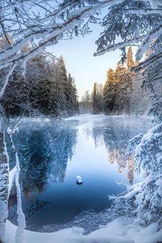 Kiikunlähde, Finland.