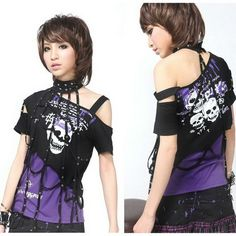 Visual Kei Punk Rave Gothic T Shirt Medium 71201-in T-Shirts from Apparel  Accessories on Aliexpress.com $36.22