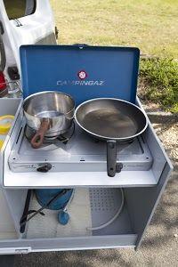 Coin cuisine - Trafic II Passenger 2007 L1H1 5/2p Wkend/Vacances Surf/Vélo