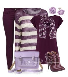"""Shades Purple"" by wishlist123 ❤ liked on Polyvore featuring Benetton, Warehouse, The Cambridge Satchel Company, Madison Harding, Retrò, women's clothing, women, female, woman and misses"