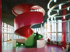 Herzog & de Meuron, Duccio Malagamba · Cottbus University Library · Divisare