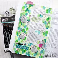"Bible Art Journaling - My Favorite Things ""Ewe Are the Best"" / Bible Art Journaling"