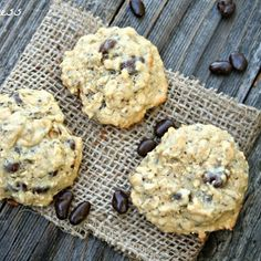 Oatmeal chia seed cookies - these are great!  Use chocolate chips or raisins, makes a really soft cookie.