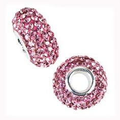 Pink Bling pandora charms. Love these definitely want for my new bracelet.