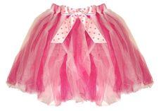 Pink Polka Dot Tutu Skirt 2-8 yr 2T-10/12 Girls Dress Up Halloween Costume
