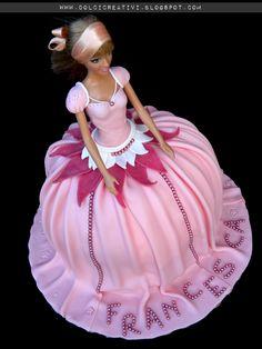 Image detail for -3d+Barbie+cake.JPG