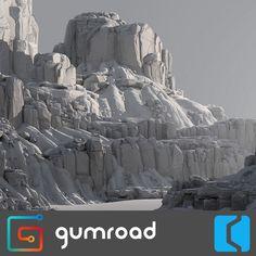 -- Share via Artstation iOS App, Artstation © 2017 Zbrush Environment, Environment Concept Art, Environment Design, Terrain Texture, Fake Rock, Color Script, Landscape Concept, Southwest Art, Matte Painting