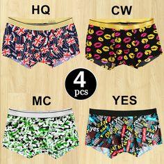 36edcf2f9c7 Aliexpress.com   Buy 4PCS LOT Male Panties Boxers Comfortable Breathable Boxer  Panty Men s Underwear Boxers Men Mens Sexy boxer Underpants SizeXXL from ...