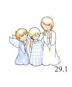dibujos de primera comunion para colorear - Buscar con Google Baptism Cookies, Stained Glass Angel, Children's Literature, Home Wall Decor, First Communion, Smurfs, Religion, Scrap, Poster Prints
