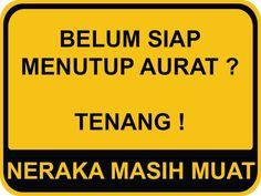 30 Stiker ini dijamin bikin kamu mendadak pengen tobat, 'jleb' ba Jokes Quotes, Funny Quotes, Funny Memes, Reminder Quotes, Self Reminder, Fake Friend Quotes, Islamic Posters, Love In Islam, Islamic Quotes Wallpaper